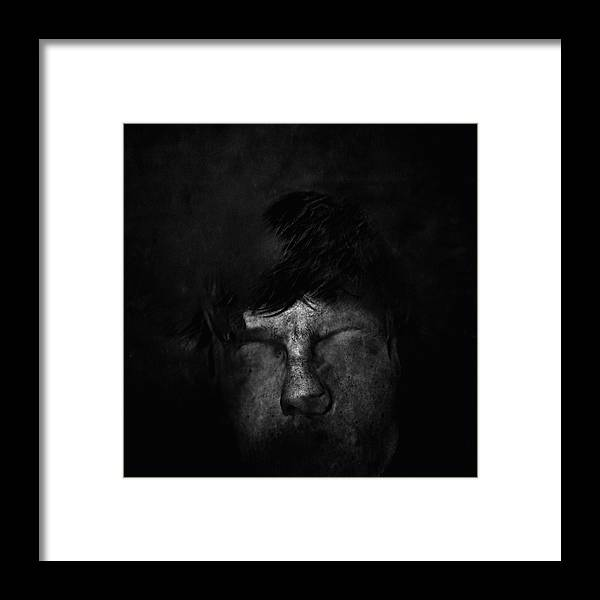 People Framed Print featuring the photograph Sweden, Stockholm, Distorted Face by Win-initiative