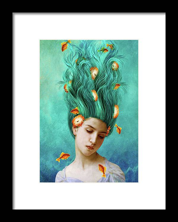 Sweet Allure Framed Print featuring the mixed media Sweet Allure by Diogo Ver?ssimo