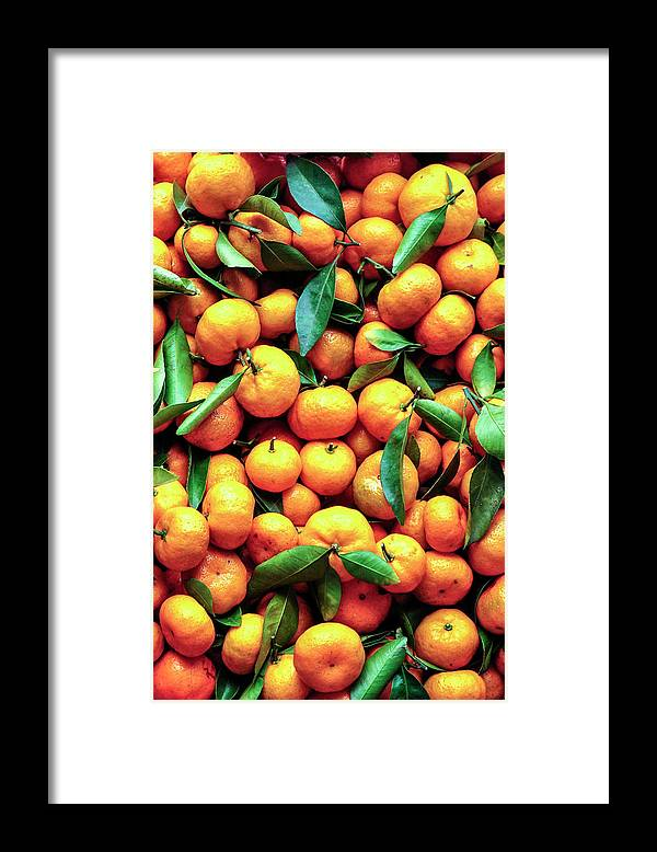 Orange Framed Print featuring the photograph Sweet Oranges by Gabriel Perez