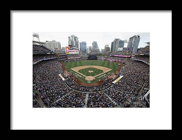 American League Baseball Framed Print featuring the photograph T-mobile Home Run Derby by Todd Warshaw