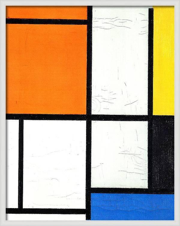 Tableau 3 by Piet Mondrian
