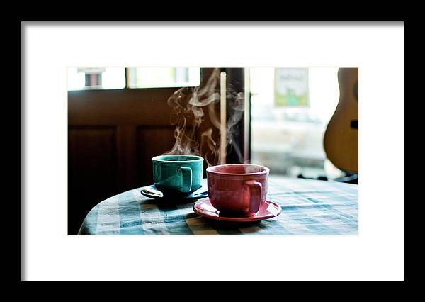 San Francisco Framed Print featuring the photograph Tea For Two by Cindy Loughridge