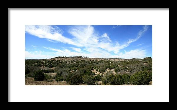 Texas Hill Country Xxl Panorama Framed Print By Fstop123
