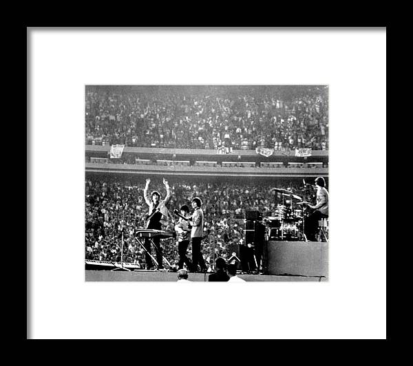 Paul Mccartney Framed Print featuring the photograph The Beatles by Michael Ochs Archives