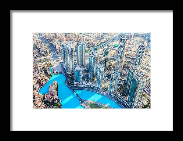 City Framed Print featuring the photograph The Building In The Emirate Of Dubai by Holycrazylazy