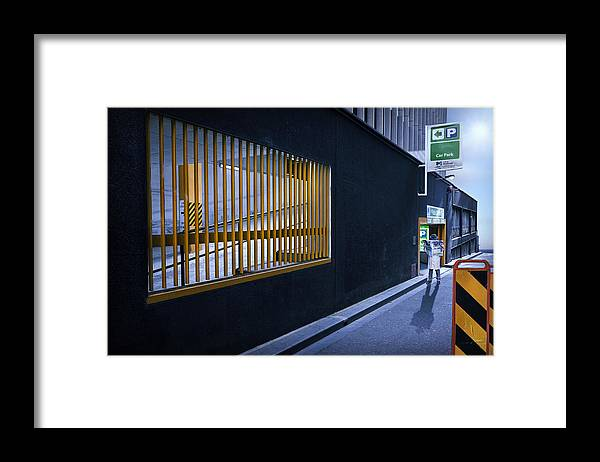 Melbourne Framed Print featuring the photograph The Car Park by Adrian Donoghue
