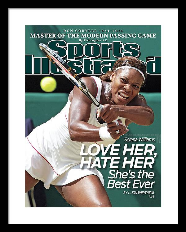 The Championships - Wimbledon 2010 Day Twelve Sports Illustrated Cover Framed Print