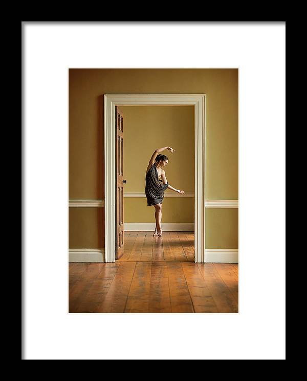 Ballet Framed Print featuring the photograph The Doorway by Ross Oscar