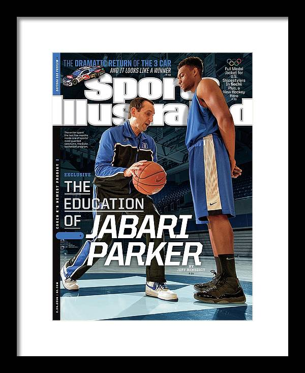 Magazine Cover Framed Print featuring the photograph The Education Of Jabari Parker Sports Illustrated Cover by Sports Illustrated