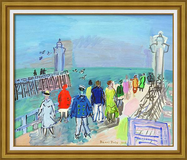 The Jetties of Trouville-Deauville by Raoul Dufy
