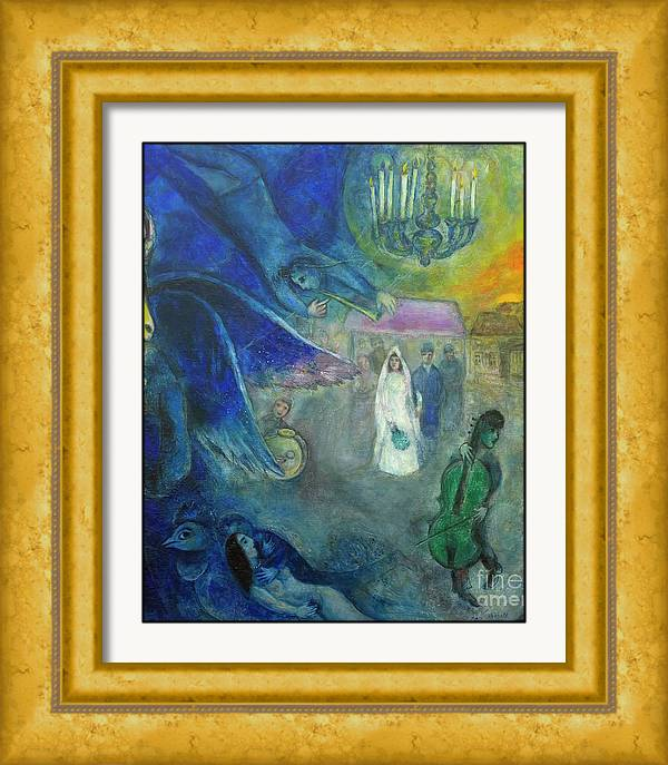 The Lights of Marriage by Marc Chagall