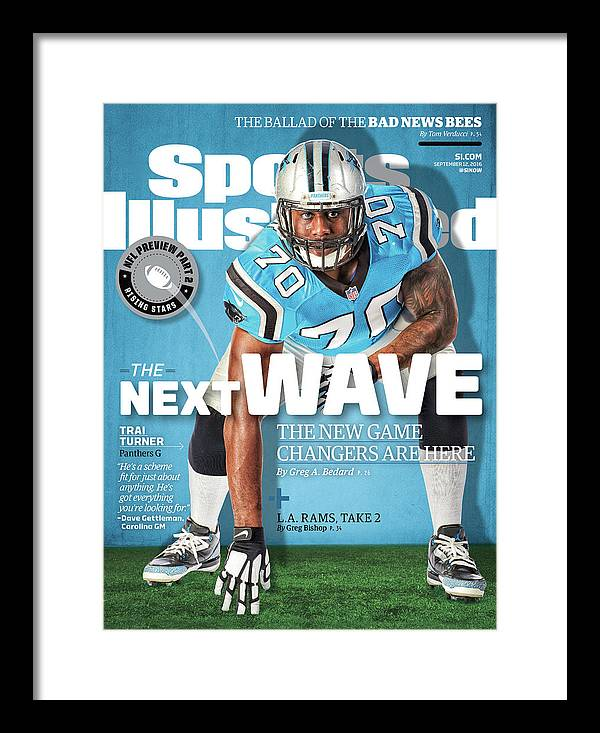 Magazine Cover Framed Print featuring the photograph The Next Wave The New Game Changers Are Here Sports Illustrated Cover by Sports Illustrated