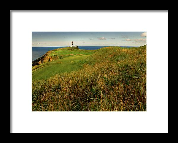 Scenics Framed Print featuring the photograph The Old Head Golf Links, Kinsale by E J Carr
