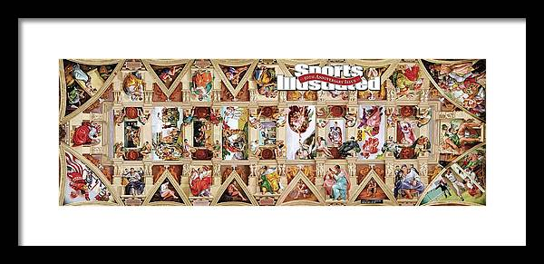 Event Framed Print featuring the photograph The Sistine Chapel Of Sports, 50th Anniversary Issue Sports Illustrated Cover by Sports Illustrated