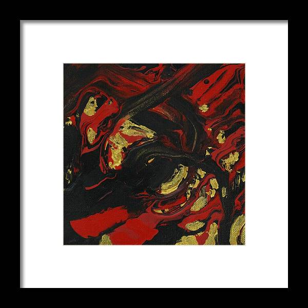 Wing Chun Framed Print featuring the painting The Spirit of a Warrior by Sonye Locksmith