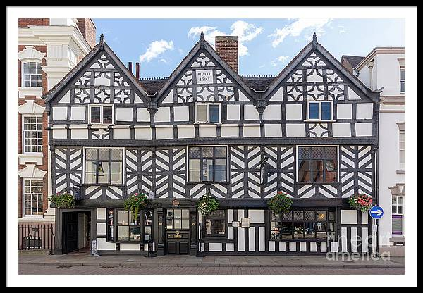 Tudor Framed Print featuring the photograph The Tudor by Steev Stamford