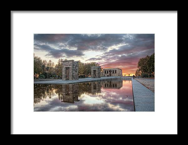 Arch Framed Print featuring the photograph The Twilight Of The Gods by Servalpe
