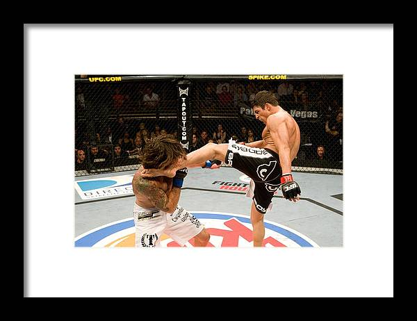 Sport Framed Print featuring the photograph The Ultimate Fighter 9 Finale by Josh Hedges/zuffa Llc