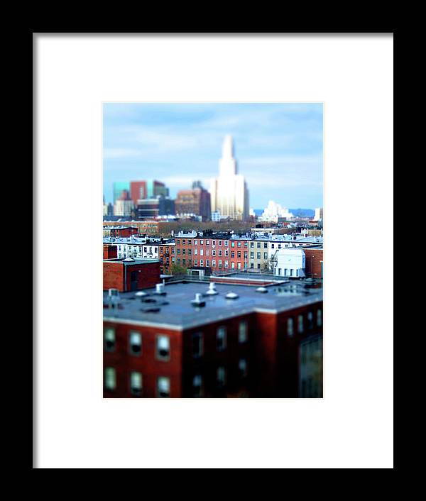 Outdoors Framed Print featuring the photograph The View Brooklyn by Angela Martini