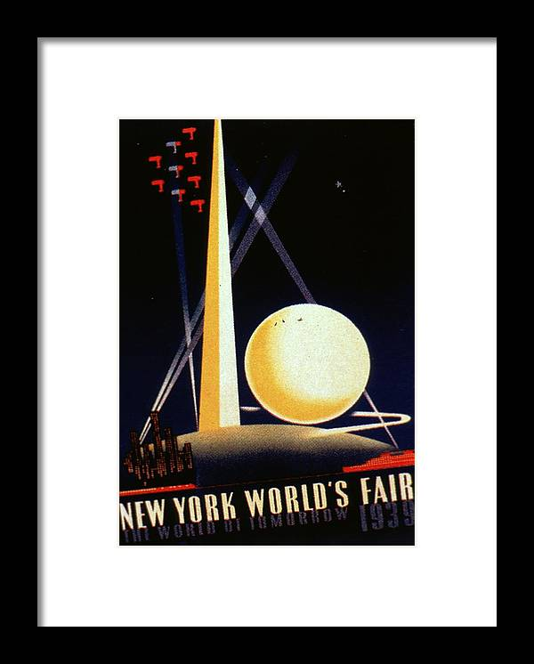 1930-1939 Framed Print featuring the photograph The World Of Tomorrow by Mpi