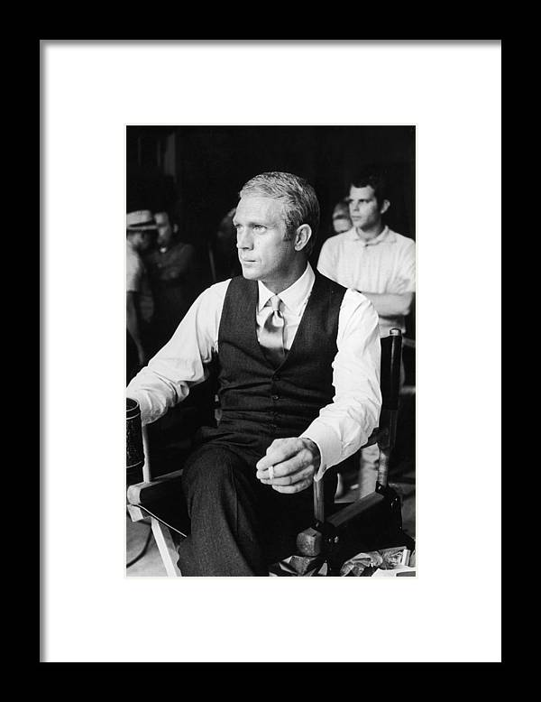 Director Framed Print featuring the photograph Thomas Crown by Hulton Archive