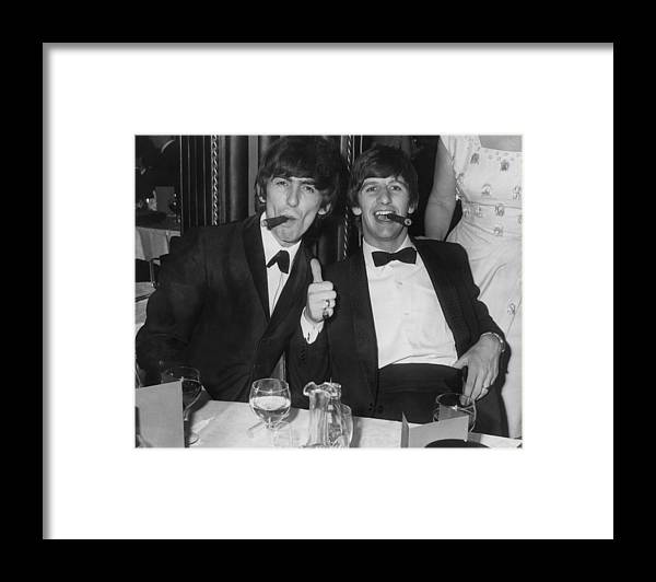 Rock Music Framed Print featuring the photograph Thumbs Up From Ringo by Express