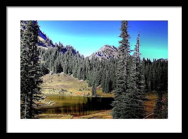 Tipsoo Lake on Chinook Pass Washington by David Patterson