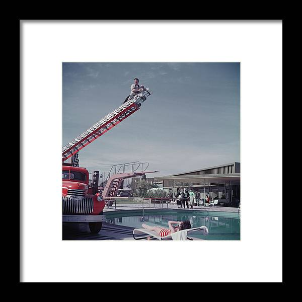 1950-1959 Framed Print featuring the photograph To Any Lengths by Hulton Archive