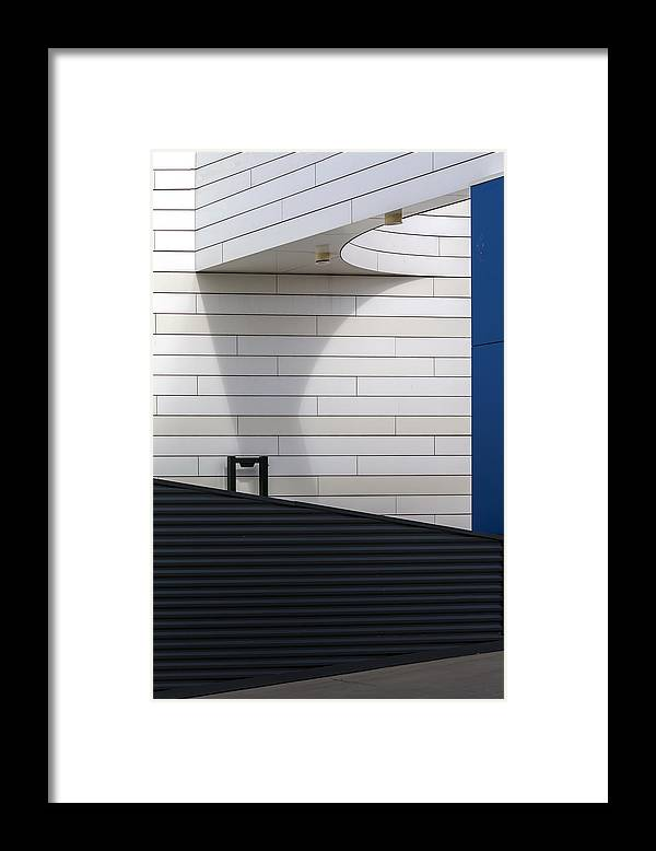 Parking Framed Print featuring the photograph To Parking Deck by Theo Luycx
