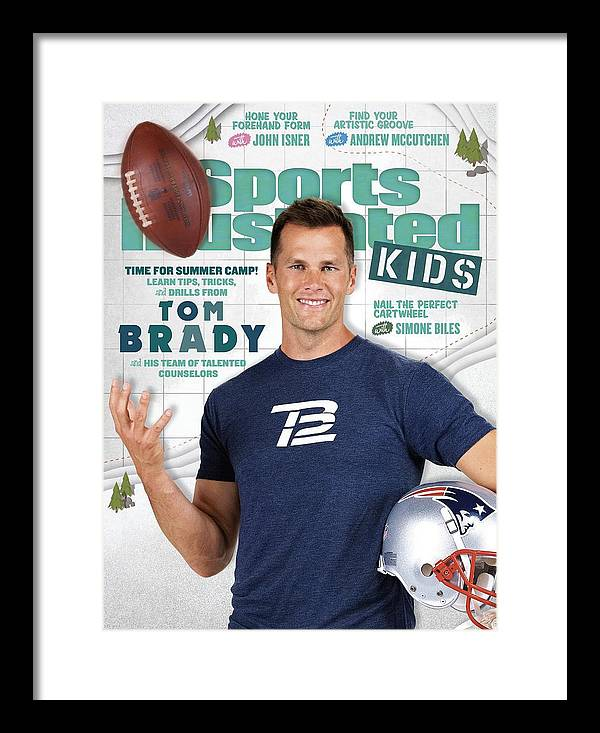 People Framed Print featuring the photograph Tom Brady Sports Illustrated Cover by Sports Illustrated