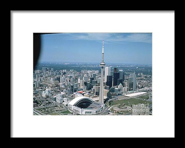 American League Baseball Framed Print featuring the photograph Toronto Blue Jays by Mlb Photos