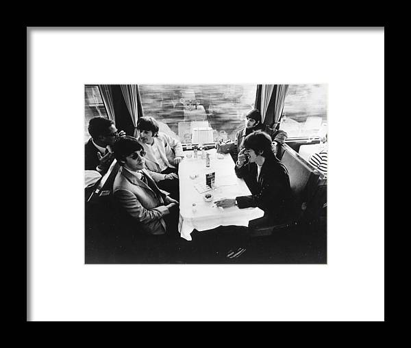 People Framed Print featuring the photograph Touring By Train by Keystone Features