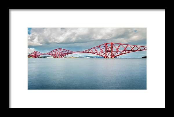 Europe Framed Print featuring the photograph Train Bridge - Forth Of Fifth by Fabio Gomes Freitas