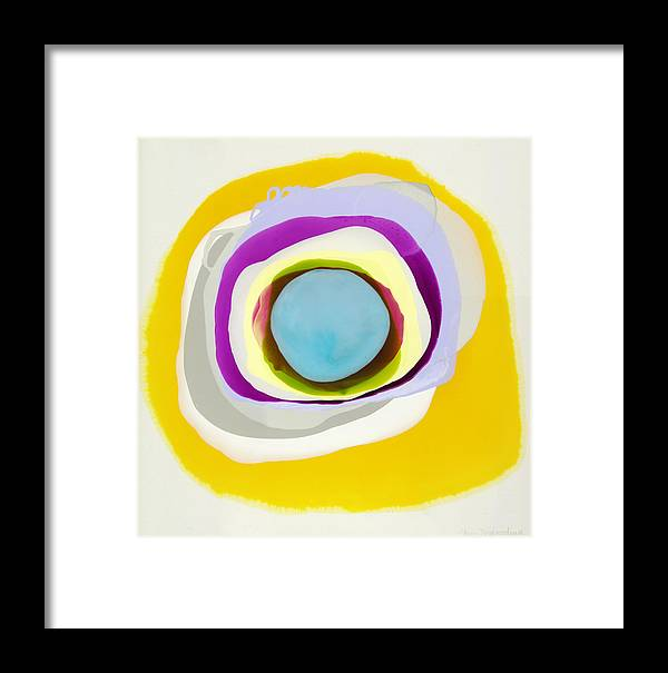 Abstract Framed Print featuring the photograph Tranquil by Claire Desjardins