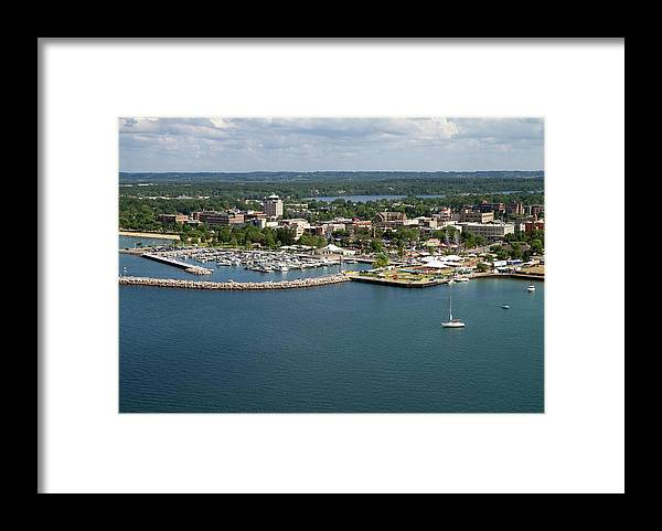 Lake Michigan Framed Print featuring the photograph Traverse City, Michigan by Ct757fan