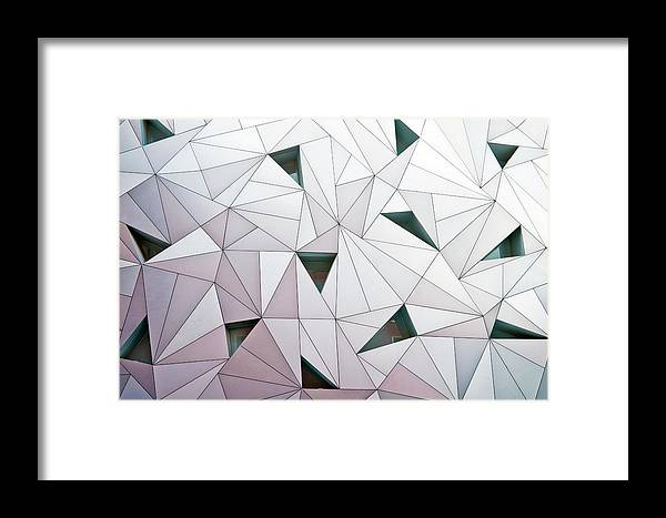 Madrid Framed Print featuring the photograph Triangulation 1 by Linda Wride