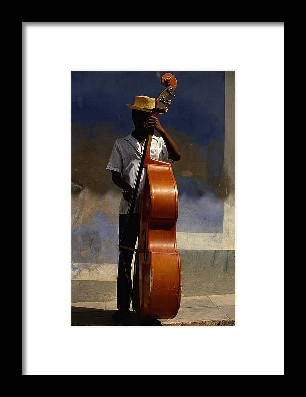 Straw Hat Framed Print featuring the photograph Trinidad In Cuba by Buena Vista Images
