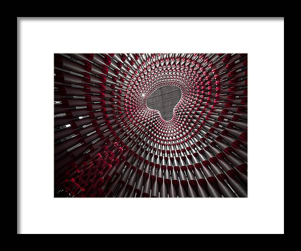 Dome Framed Print featuring the photograph Tubular Construct by Christopher Budny