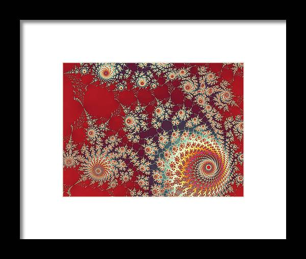 Art Framed Print featuring the digital art Unity by Ester McGuire