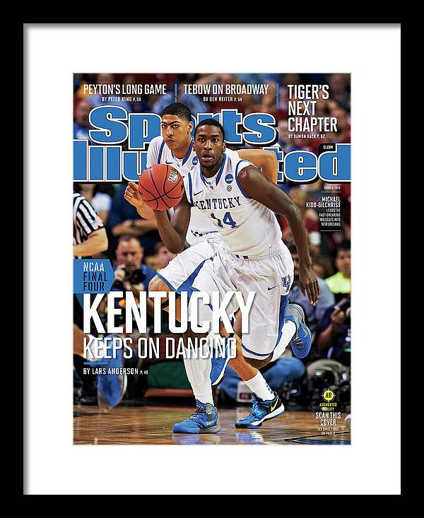 Atlanta Framed Print featuring the photograph University Of Kentucky Michael Kidd-gilchrist, 2012 Ncaa Sports Illustrated Cover by Sports Illustrated