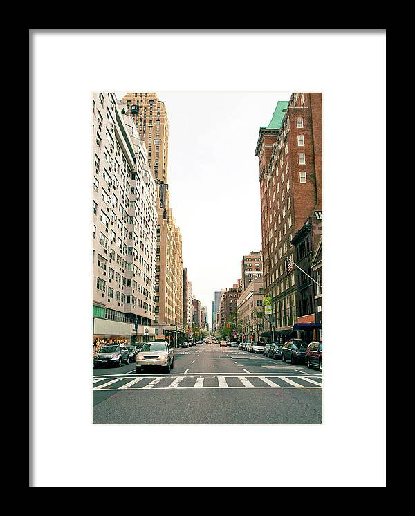 Outdoors Framed Print featuring the photograph Upper East Side, New York City by William Andrew