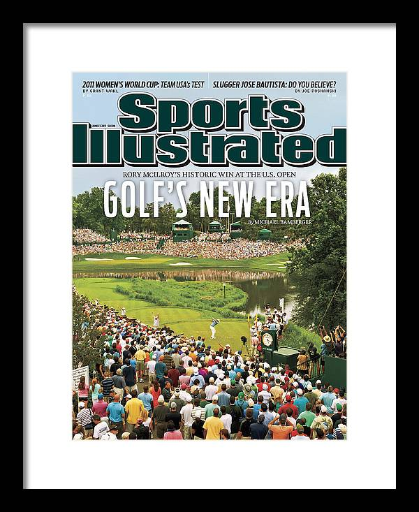 Bethesda Framed Print featuring the photograph U.s. Open - Final Round Sports Illustrated Cover by Sports Illustrated