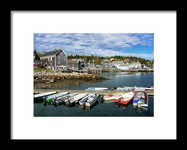 Water's Edge Framed Print featuring the photograph Usa by Loop Images