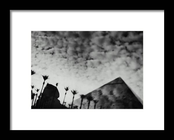 Hotel Framed Print featuring the photograph Usa,nevada,las Vegas,luxor Hotel by Seth Joel