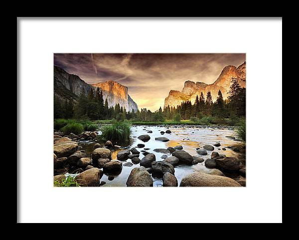 Scenics Framed Print featuring the photograph Valley Of Gods by John B. Mueller Photography