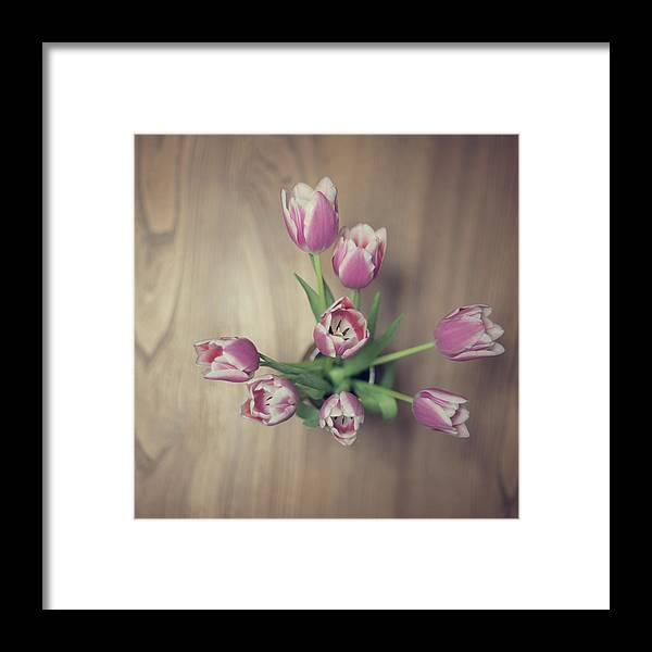 Vase Framed Print featuring the photograph Vase Full Of Happiness by Paula Daniëlse