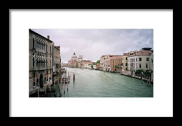 Europe Framed Print featuring the photograph Venice Grand Canal by Dick Goodman
