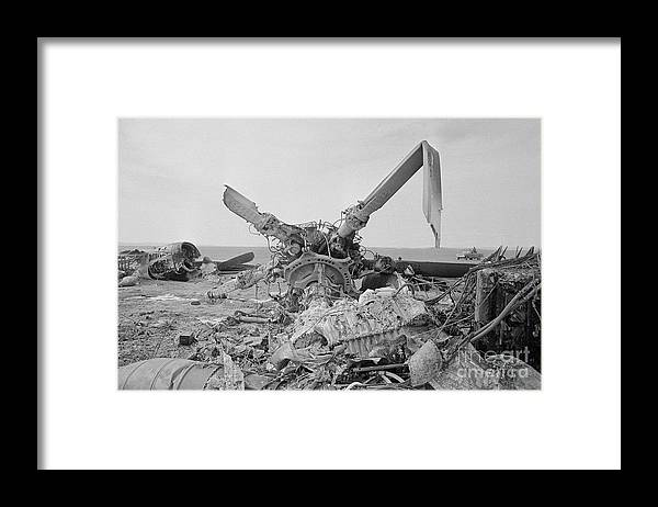 1980-1989 Framed Print featuring the photograph View Of American Helicopter by Bettmann