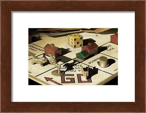 Vintage Monopoly 2 by Mike Eingle