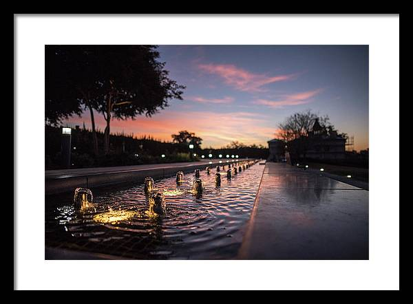 Virginia Museum Of Fine Arts Framed Print featuring the photograph Vmfa Sunrise In Rva by Doug Ash